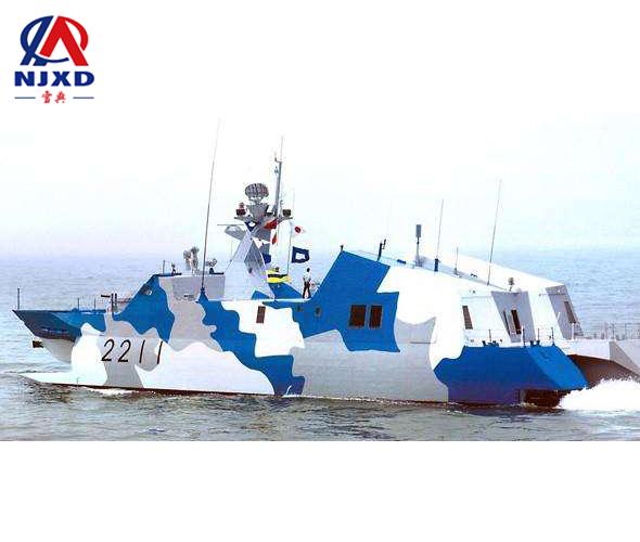 收拢闭合超4米的长节船用天线jbo竞博桅杆