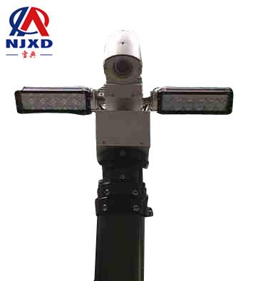车载照明监控jbo竞博设备(360度旋转隐藏式内置电源线)