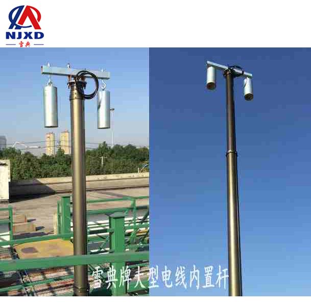 18米大型内置电源线jbo竞博灯杆